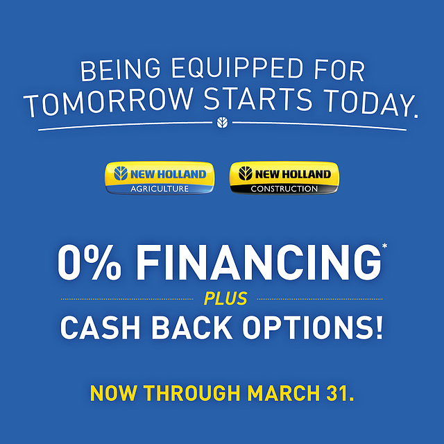 0% Financing New Holland