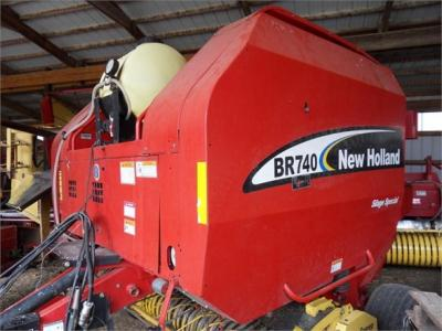 2003 NEW HOLLAND BR740 58391