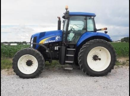 2009 NEW HOLLAND T8010 52175