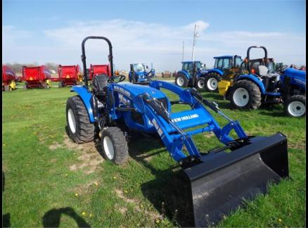 2015 NEW HOLLAND BOOMER 37 56251