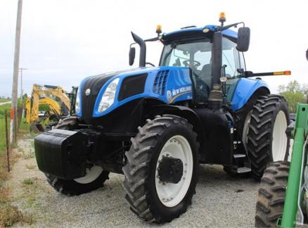 2014 NEW HOLLAND T8.320 63827