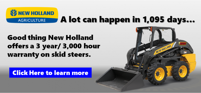 New Holland Skid Steer Warranty