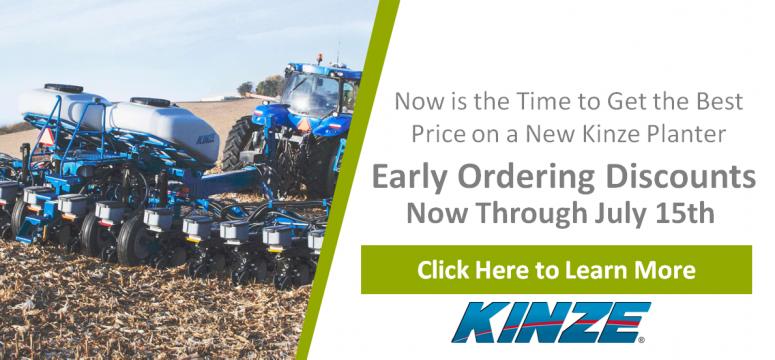 Kinze Early Order Slide