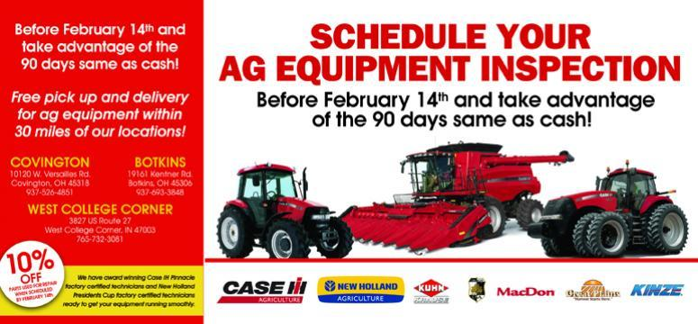 Ag Equipment Inspection