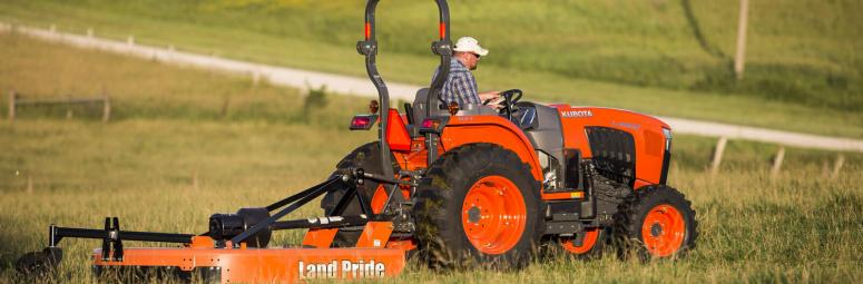 Land Pride Mower