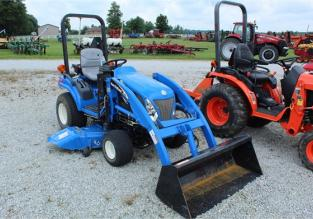 2006 NEW HOLLAND TZ25DA 61005