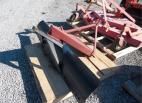 "Blades/Box Scraper 72"" 3PT BLADE 59633"