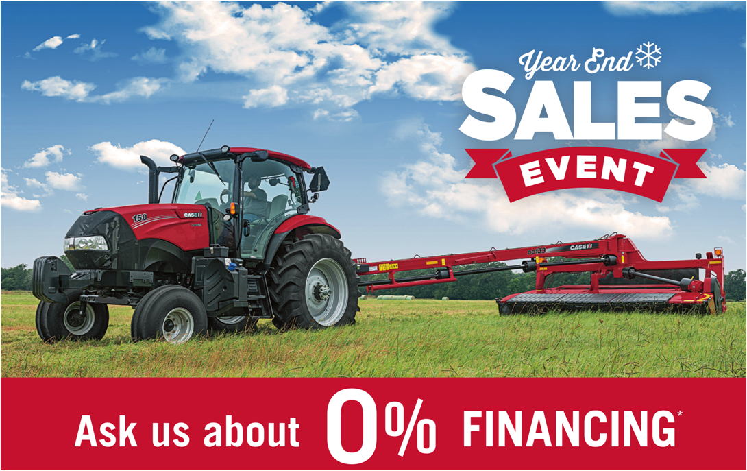 Case Year End Sales Event